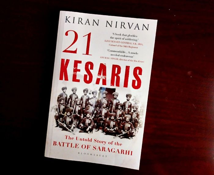 Book Review-21 Kesaris: The Untold Story of the Battle of Saragarhi by KiranNirvan